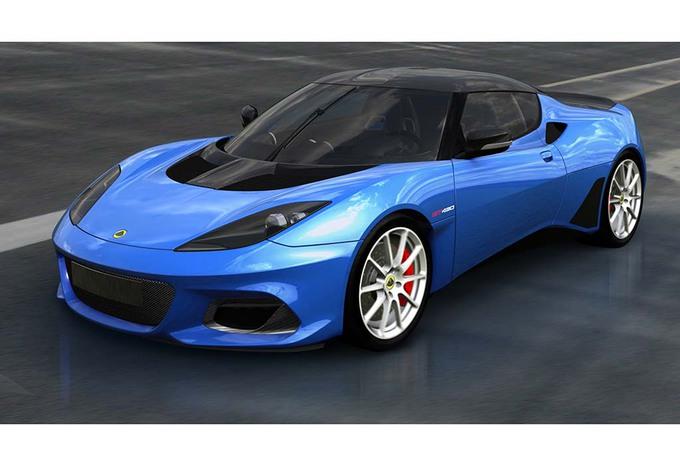 Lotus : une Evora GT430… Sport #1
