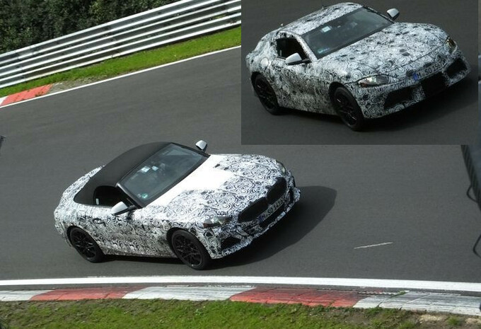 BMW Z4 en Toyota Supra op de Nürburgring #1