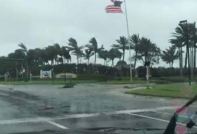 INSOLITE – Il filme au cœur de l'ouragan Irma dans sa voiture #1