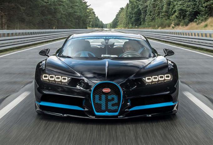 Bugatti Chiron: record op de 0-400-0 km/h #1