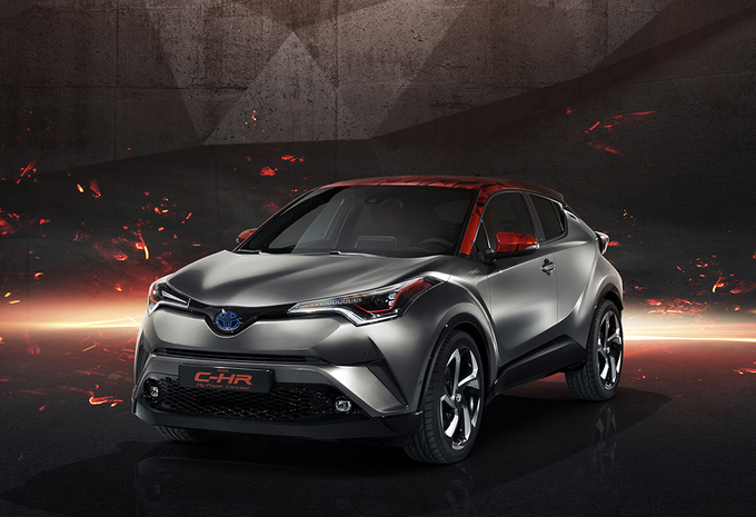 Toyota C-HR in hybride sporttenue #1