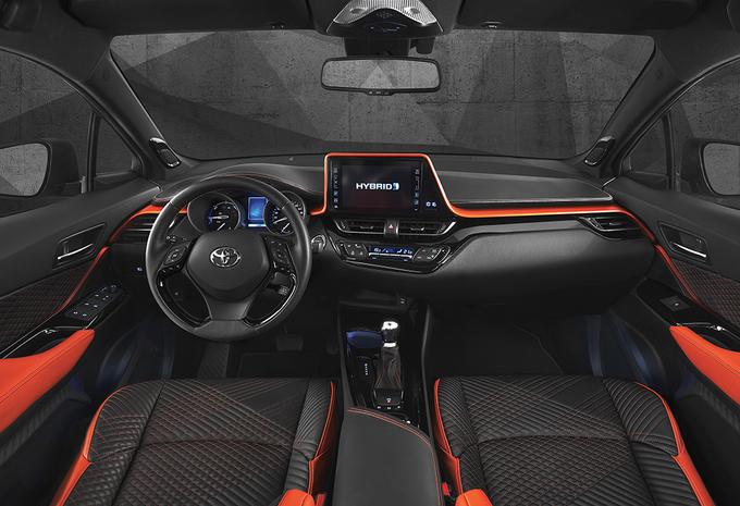 Toyota C-HR Hy-Power : le C-HR enfile son survet'
