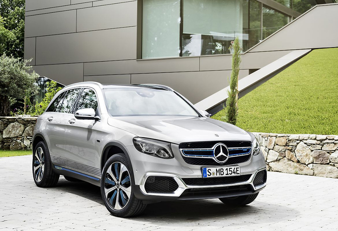 Mercedes GLC F-Cell op waterstof is productieklaar #1