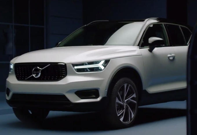 volvo xc40 eerste foto s uitgelekt autogids. Black Bedroom Furniture Sets. Home Design Ideas