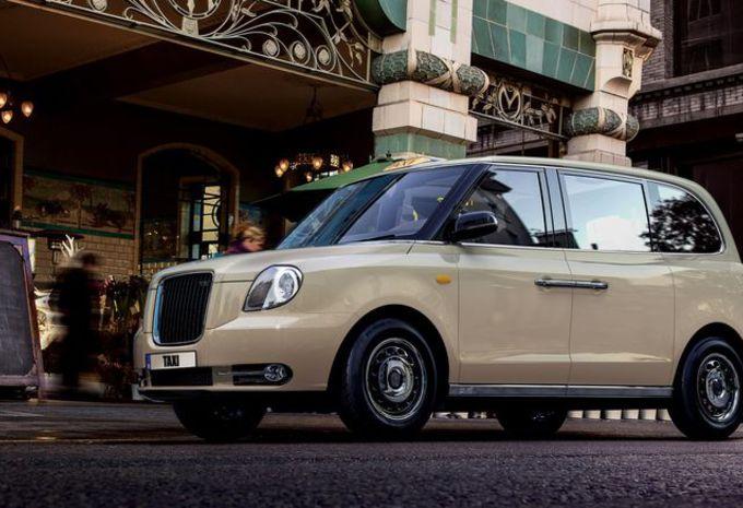 TX : le nouveau taxi londonien électrique à Francfort #1