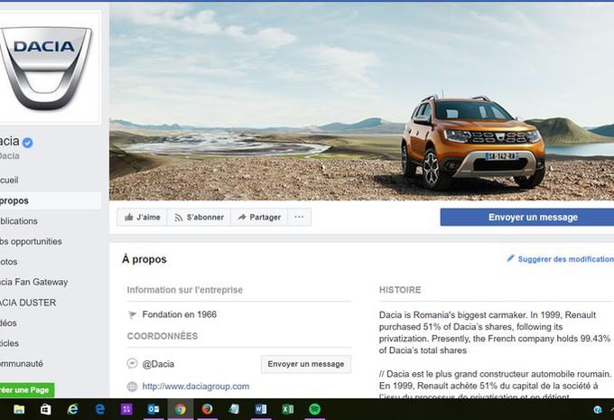 Dacia utilise le feedback clientèle sur Facebook #1