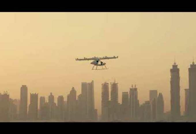 Les taxis-drones déjà en test à Dubai — Volocopter