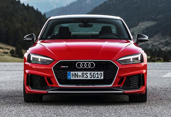 Audi RS4 Avant en RS5 Coupé Carbon Edition: afslankkuur #1