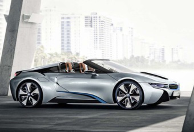 Bmw I8 Roadster Electric Range Doubled Main Info