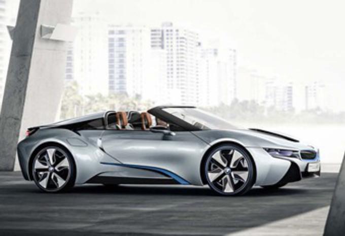 BMW i8 Roadster: autonomie doublée en électrique #1