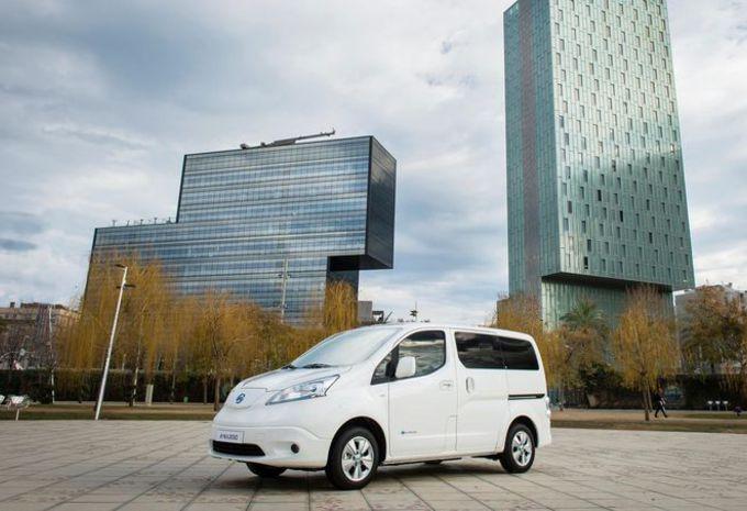 Nissan e-NV200/Evalia: 60 procent meer rijbereik - AutoGids