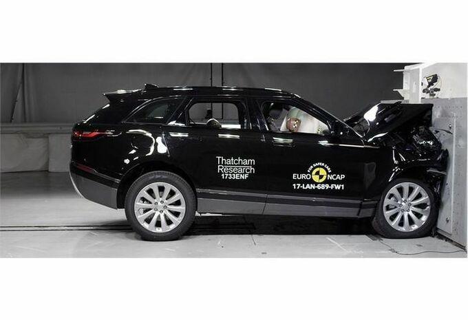 EuroNCAP : 5 étoiles pour le Range Rover Velar #1