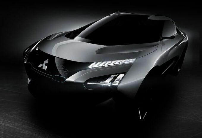 Mitsubishi e-Evolution concept : un SUV dynamique et intelligent
