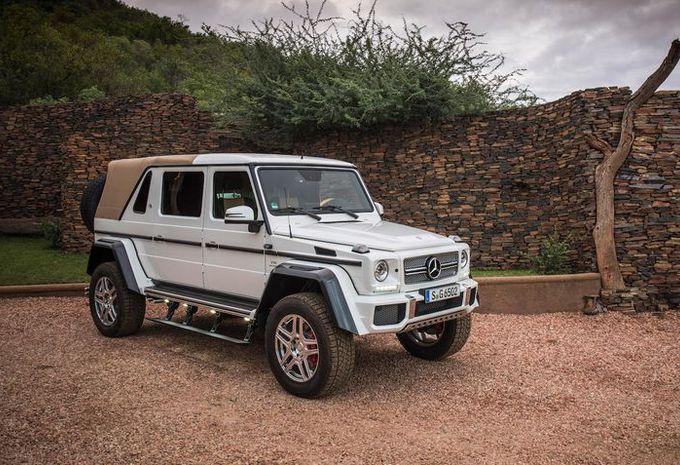 1,2 million pour la Mercedes-AMG G650 Landaulet à Knokke #1