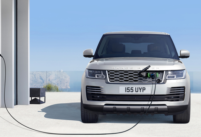 vid o range rover voici l hybride rechargeable moniteur automobile. Black Bedroom Furniture Sets. Home Design Ideas