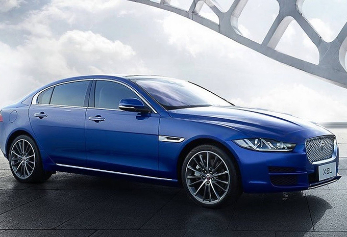 Jaguar XE nu ook als verlengde XEL #1