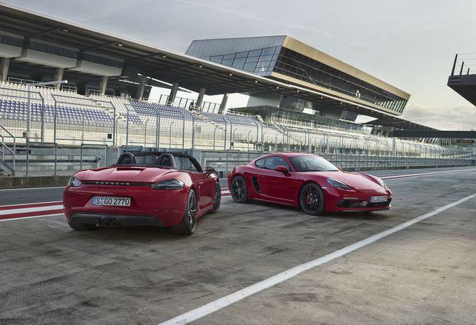 Porsche 718 Cayman et 718 Boxster : GTS !