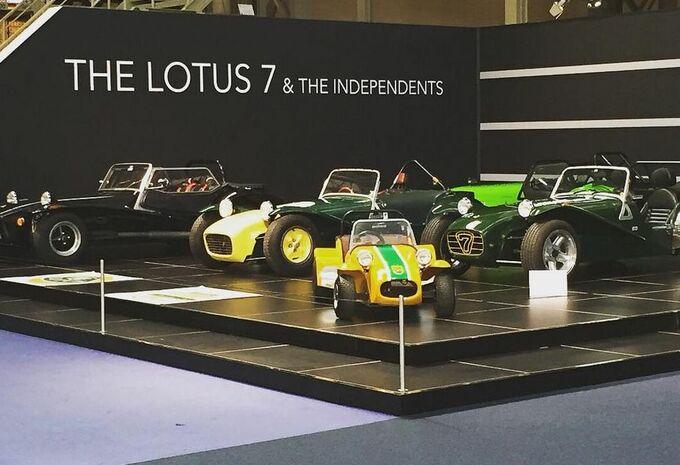 La Lotus Seven à Autoworld #1