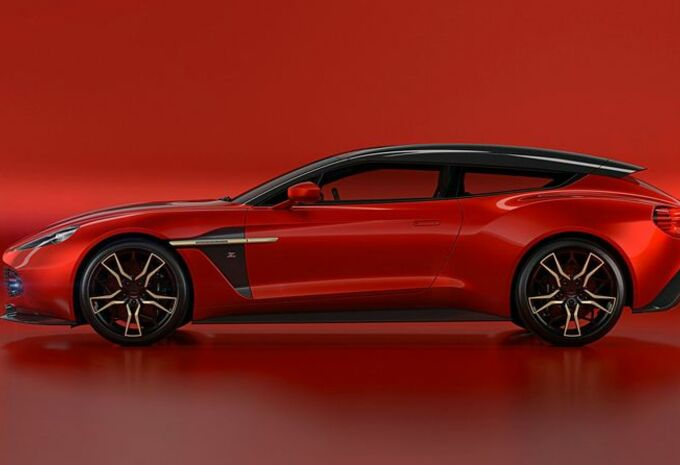 Aston Martin Zagato Shooting Brake : 99 exemplaires #1