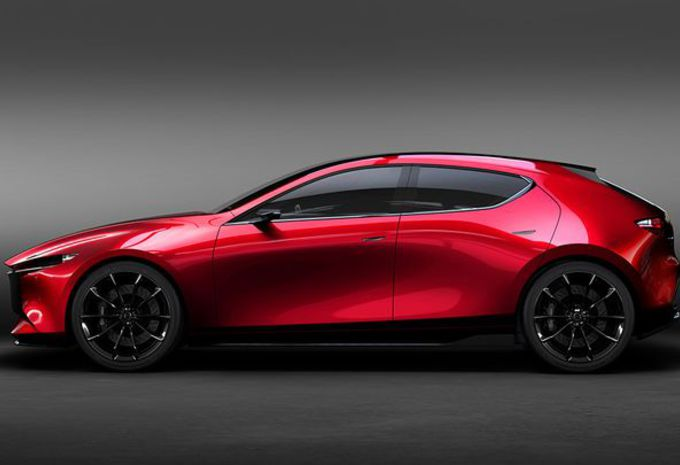photos mazda kai concept future 3 tokyo moniteur automobile. Black Bedroom Furniture Sets. Home Design Ideas