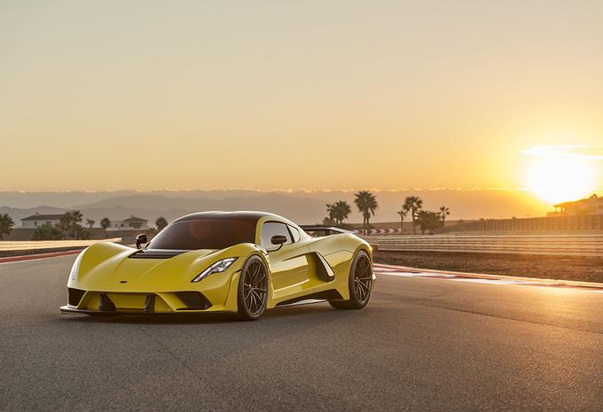 Vergeet Bugatti, deze Hennessey Venom F5 haalt 483 km/u! #1