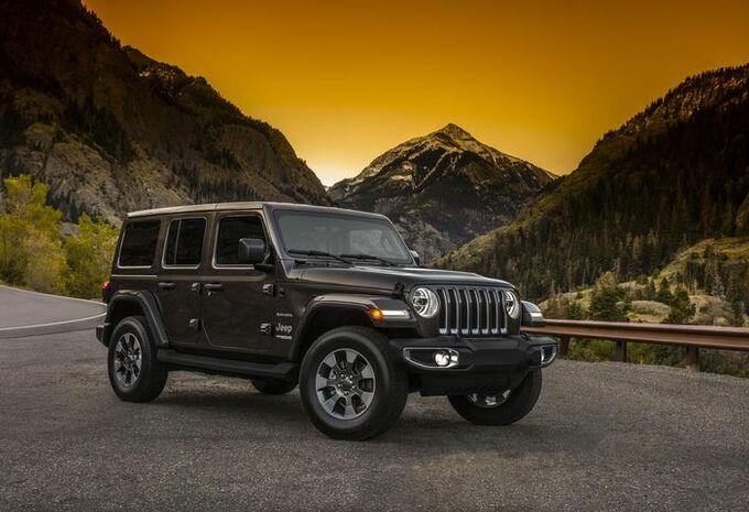 La nouvelle Jeep Wrangler sort du bois #1
