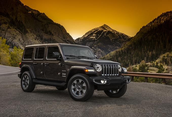 Jeep geeft eerste foto's gloednieuwe Wrangler vrij #1