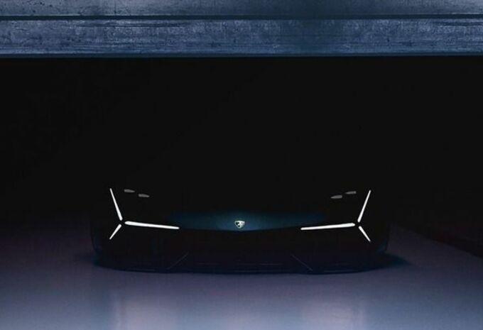 Un nouveau pas vers le futur — Lamborghini Terzo Millennio