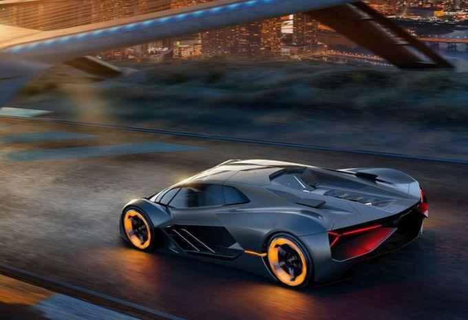 Lamborghini Terzo Millennio kijkt vooruit naar elektrische supersportwagentoekomst #1