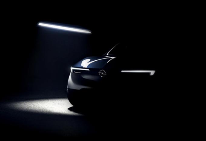 Opel: teaser voor toekomstig model #1
