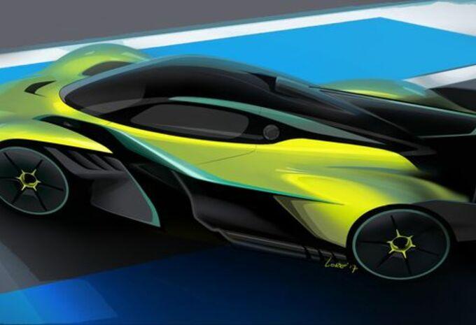 Aston Martin Valkyrie AMR Pro : pistarde #1