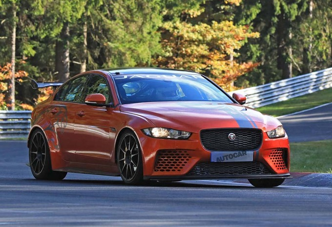 Jaguar XE SV Project 8: nouveau record sur le Ring #1