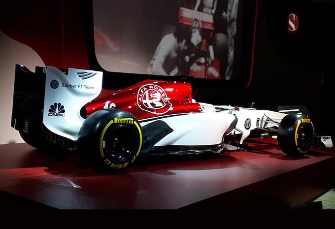Zo gaat nieuwe bolide van het Alfa Romeo Sauber F1 Team eruit zien #1