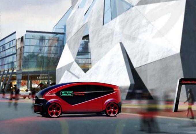 Fisker Orbit: autonome pendelbus voor 2018 #1
