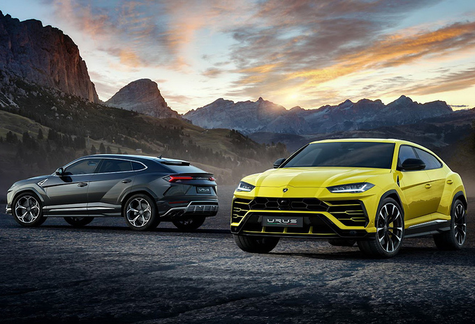 Lamborghini Urus is een supercar in SUV-outfit #1
