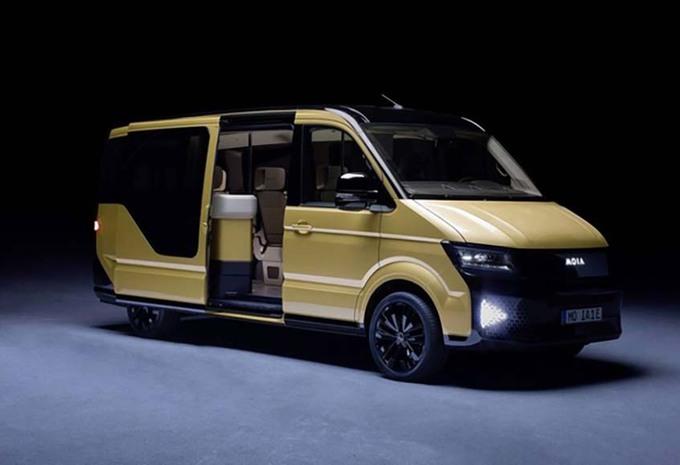 Moia : Volkswagen lance un service de minibus électriques #1
