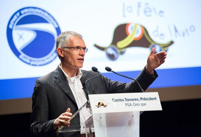 Carlos Tavares nommé président de l'ACEA #1