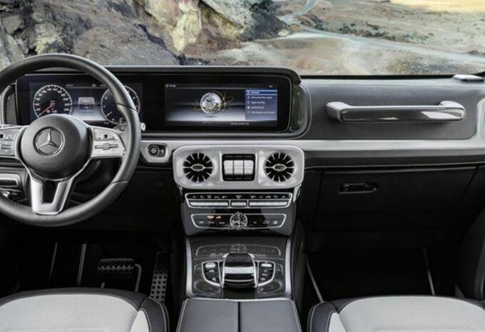 Mercedes G-Klasse onthult zijn interieur - AutoGids