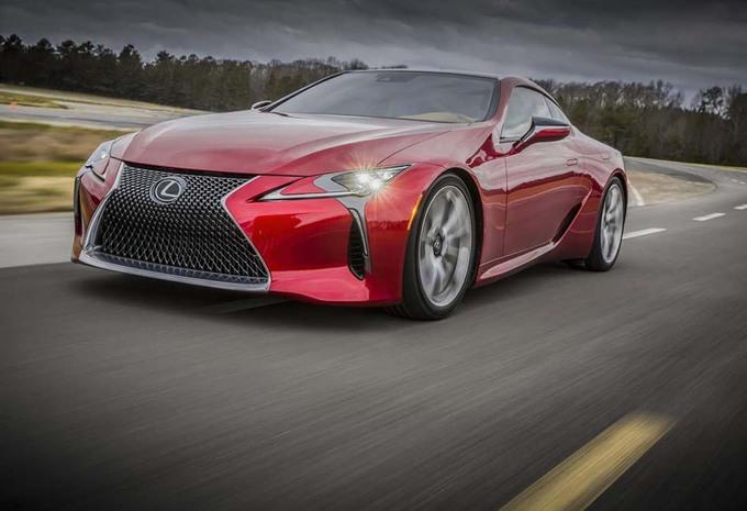 Lexus LC-F : plus fort que la LFA en 2019 ! #1