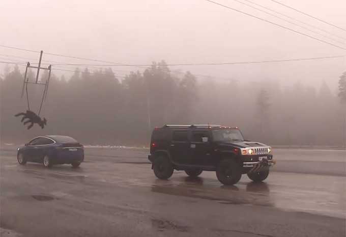 Hummer vs Tesla Model X: een onverwachte winnaar #1