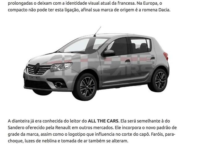 Dacia Sandero : bientôt un restylage ? #1