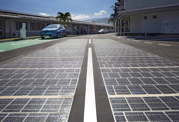 Premier bilan pour la route solaire, WattWay #1