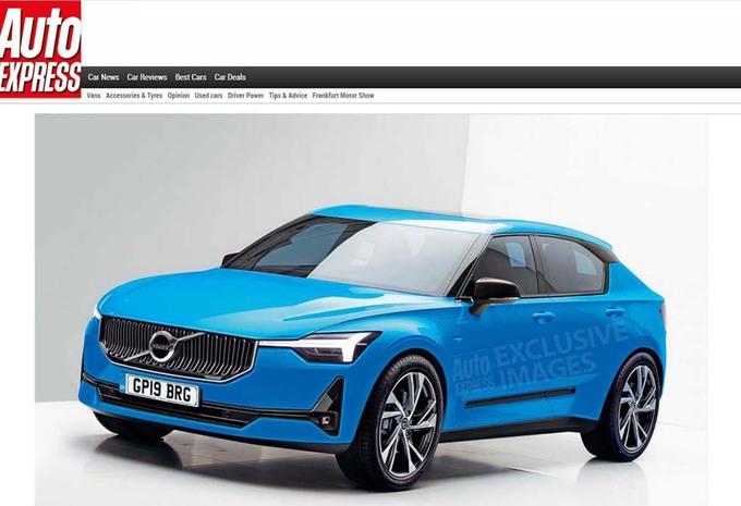 Volvo : la future V40 se dessine #1