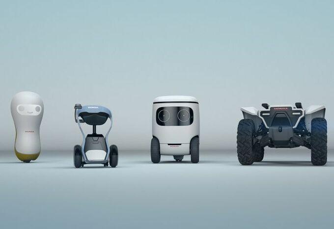 CES 2018 – Honda : quatre robots pour le CES #1