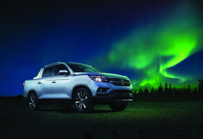 Un nouveau pick up sud coréen — SsangYong Musso Sports