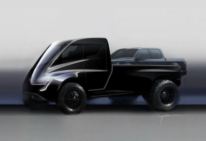 Musk bevestigt komst Tesla Pick Up #1