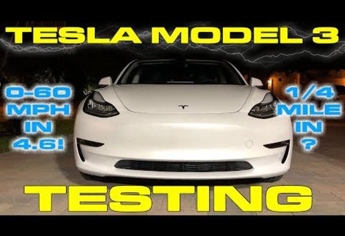 Tesla Model 3 is veel sneller dan beloofd #1
