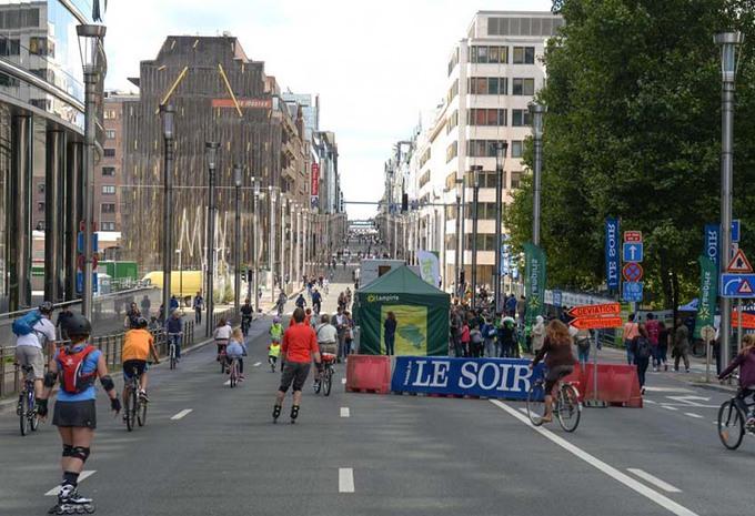 Autoloze weekdag in Brussel? #1