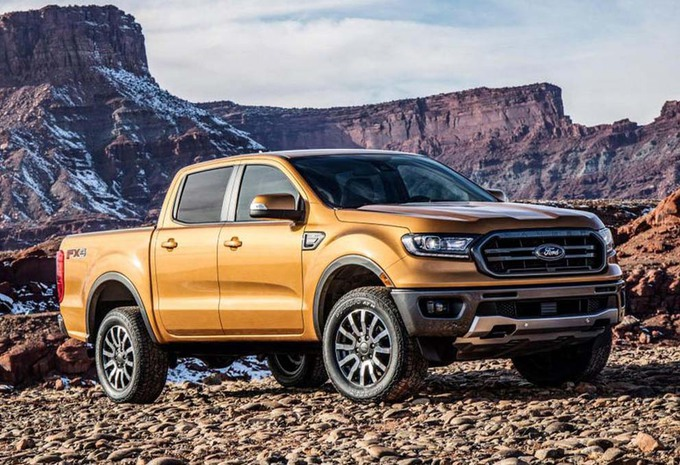 photos naias 2018 ford ranger un nouveau pick up moniteur automobile. Black Bedroom Furniture Sets. Home Design Ideas