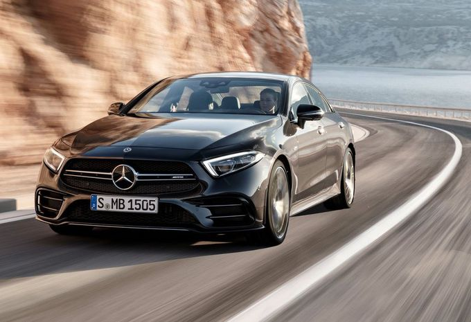 Naias 2018 Mercedes 53 Amg Mild Hybride Amg Voor E Klasse En Cls